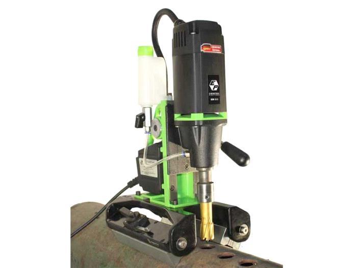 PERMANENT MAGNETIC PIPE CORE DRILLING MACHINE-PDM 35 X - Eibenstock Positron Products