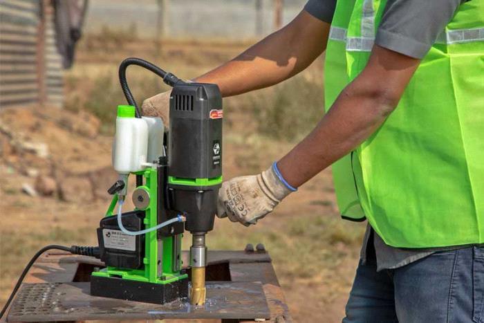 Magnetic Core Drilling Machine-KBM 35 X - Eibenstock Positron Products
