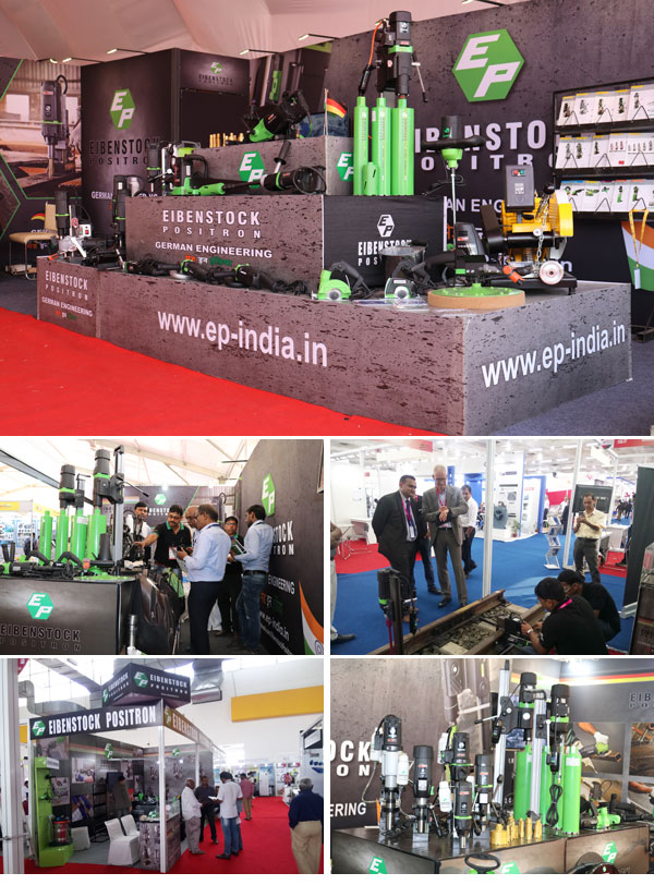 Eibenstock Positron - India, Exhibition