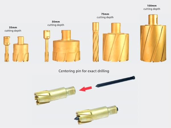 HSS ANNULAR CUTTER-Magnetic Core Drilling Accessories - Eibenstock Positron Products