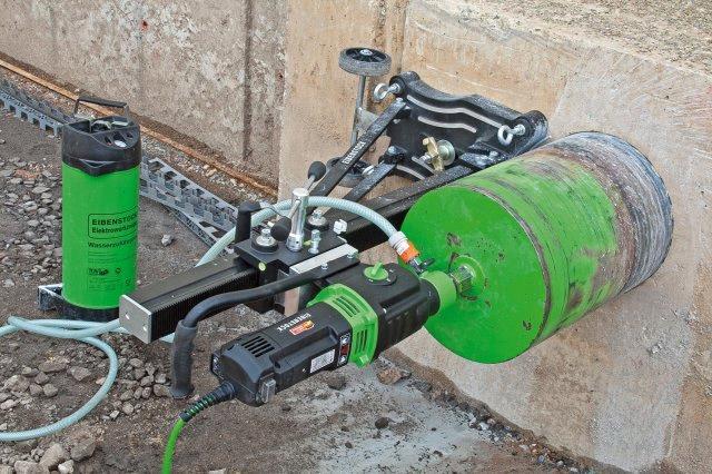 Diamond Core Drill Machine-DBE 352 - Eibenstock Positron Products
