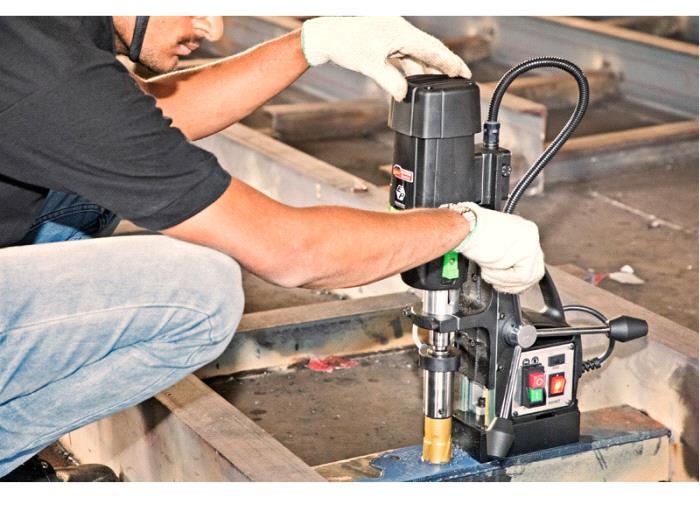 Magnetic Core Drilling Machine-KBM 42 I - Eibenstock Positron Products