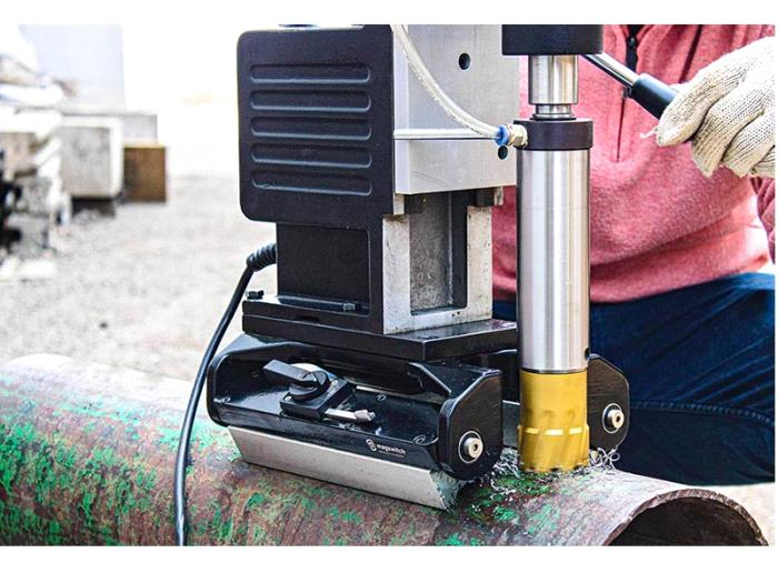 PERMANENT MAGNETIC PIPE CORE DRILLING MACHINE-PDM 85-3 X - Eibenstock Positron Products