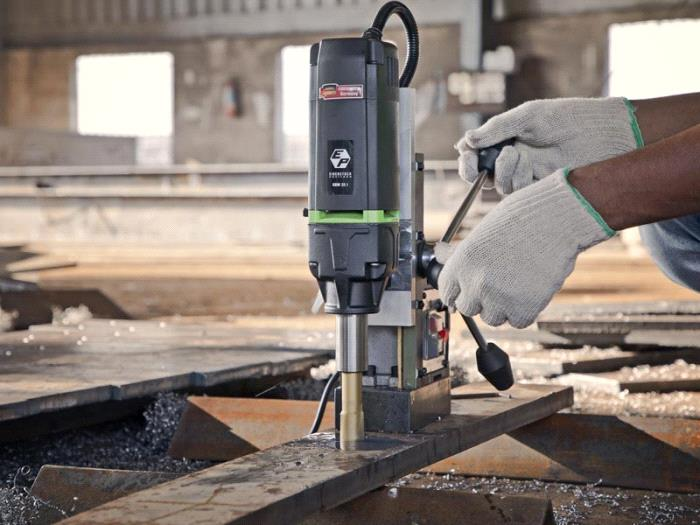 Magnetic Core Drilling Machine-KBM 35 l - Eibenstock Positron Products